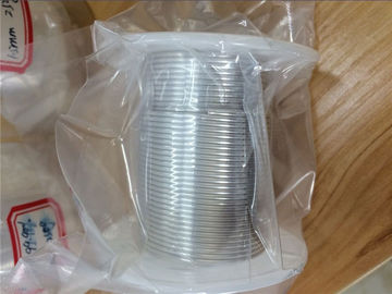 China 99.99% 4N High Purity Indium Wire For Automated Soldering CAS 7440 74 6 supplier